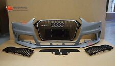 RS4 TYPE FRONT BUMPER AUDI A4 2012 B9 FACELIFT | PP PLASTIC | FOG LIGHT CANCEL