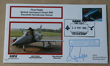 VAFA 05 BROOKLANDS MUSEUM HAWK 200 COVER SIGNED BY ADMIRAL SIR RAYMOND LYGO