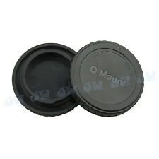 Body & Rear Cap for PENTAX Q lens & Q7 Q10 Q mount Camera Storage Protection