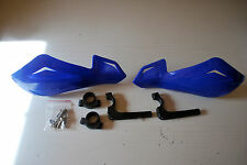 YAMAHA DT125R DT125LC BLUE HANDGUARDS PROTECTORS BRUSH GUARDS FF LITE PAIR OF