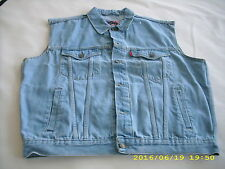 Weste Jeans S bis 3XL , NEU , 100% Baumwolle ,Kutte,Bikerweste,Weste