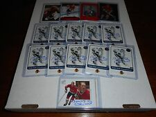 14 Bobby Hull autographed cards including 10-2001 Fleer Greats of the Game cards