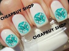 Top Quality《OVARIAN CANCER BUTTERFLY》Nail Art Tattoo Decals《NON-TOXIC