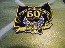 Ohio State Patrol 60th Anniversary patch
