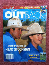R.M. WILLIAMS  OUTBACK  MAGAZINE  # 23  JUNE/JULY 2002 ISSUE