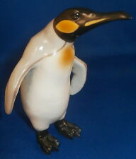 Superb Nymphenburg Porcelain Penguin Figure Figurine Porzellan Figur German