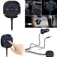 Wireless Bluetooth 3.5mm Car AUX Audio Stereo Music Receiver USB Charge Adapter