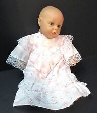 JC Toys Berenguer Baby Doll with Gown - Blue Closing Eyes - 20""