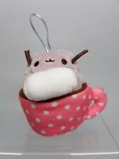 Gund PUSHEEN Series 2 Plush Christmas Ornament  - Hot Chocolate Cocoa