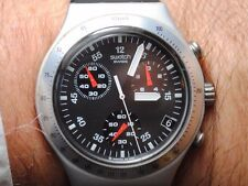 Incredible Swatch Irony Swiss Chronograph/Tachymeter! AG-2002.All functions work