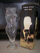 Vintage 70's Woman Style Beer Mug in original box Novelty Gift