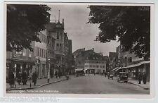 AK Göppingen --Partie bei der Marktstrasse-- um 1950 Echte Photographie
