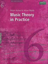 Music Theory In Practice Grade 6 ABRSM From 2008 Sheet Music Book Exam