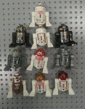 LEGO Star Wars Astromech Droid Lot 10 minifig  R2-D2 R5-D4 R2-Q2 R2-D5