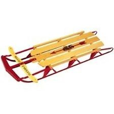 "NEW LOT OF (2) NEW 48"" FLEXIBLE FLYER #1048 WOODEN METAL RUNNER SNOW SLEDS SALE"