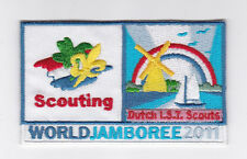 2011 World Scout Jamboree DUTCH HOLLAND NETHERLANDS IST SCOUTS Contingent Patch