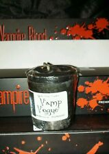 Vamp Vogue NEW Votive Candle 2.5 oz. 15 hr 3X  Scent Vampire Gothic Halloween
