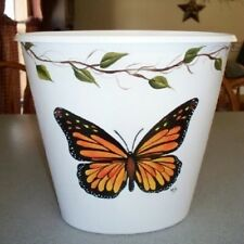 HP BUTTERFLY WASTE PAPER BASKET/MONARCH/SMALL