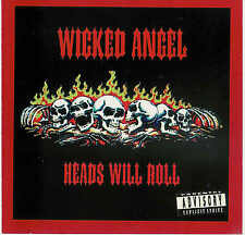 WICKED ANGEL - Heads will roll / Rare 1997er CD, first issue without Pincode ! !
