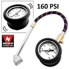 10-160 PSI Air Pressure Gauge For Cars & Trucks Tires Inflator Automotive HD