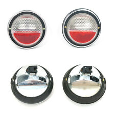 Fiat 850 Coupe 128 Rally Rear Light Set 2 Pcs New