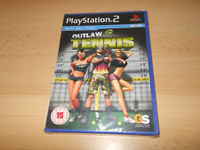 Outlaw Tennis Sony Playstation 2 PS2  NEW SEALED