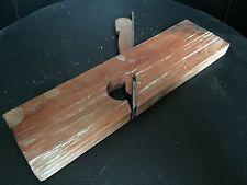 Rabot bois outil ancien pour menuisier ébeniste wood plane tool n°15