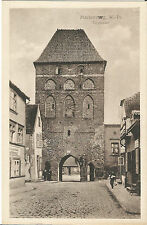 Marienburg, Westpreußen, Töpfertor, alte Ansichtskarte um 1930