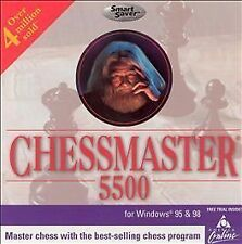 Chess Master 5500 (Jewel Case) - PC Ubisoft Video Game