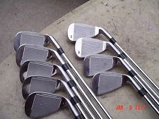 "KiS Mens Left-Handed Wide Sole Golf Club Iron Set +1/2"" 3-SW Steel Shaft"