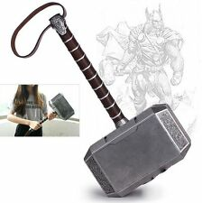 "New 17.3""Avengers Thor The Dark World Hammer Mjolnir Prop Cosplay Toy Gift GH03"