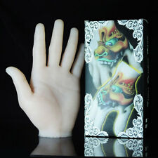 New 3D Soft Silicone Tattoo Practice Fake Skin Hand Fleshcolor Right Hand