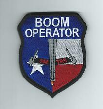 344th TRS KC-10 BOOM OPERATOR patch