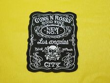 Embroidered Patch Iron Sew on T-shirt Rock Music Band Logo Guns N' Roses #T52