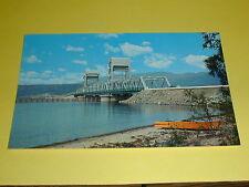 Okanagan Lake Bridge At Kelowna B.C.Postcard Canada