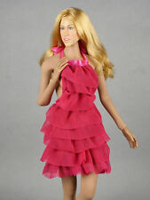 1/6 Phicen, Hot Stuff, Hot Toys, VG - Pink Color Neck Strap Layered Party Dress
