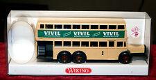 WIKING, BUS A 2 ÉTAGES DE BERLIN D38, NEUF BOITE,  1/87, 873 01 26