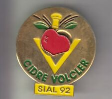 RARE PINS PIN'S .. ALCOOL POMME APPLE CIDRE VOLCLER SIAL 92 PUZZLE BIG 3D ~C2