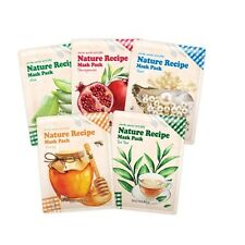 [Secret Key]Nature Recipe Mask Pack Sheet 20gx3ea Moisturizing Elasticity Smooth