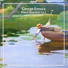 George Enescu: Piano Quartets Nos. 1 & 2 (CD, Jan-2011, CPO)