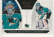 2010-11 PANINI LUXURY SUITE ALEX STALOCK RC /899 #248 SAN JOSE SHARKS