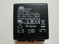 New MagTech Led driver 350mA 1 ~ 3 Watts / 4 ~ 12VDC Output/ Input 100-240VAC