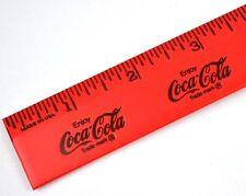 Vintage Coca Cola Coke roja Regla Ee.Uu. - rojo regla - Hecho en pors.A