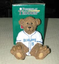 Toronto Blue Jays Teddy Bear MLB Baseball Jersey Collectible Elby Figurine