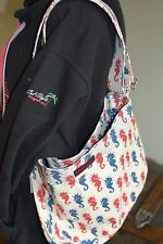 Bungalow 360 Übër Cute Sea Horse Messenger Bag! Washable, Quality, &  3
