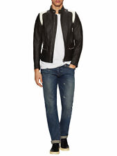 Veste cuir Diesel L-STONE, leather jackets Diesel L-STONE, NWT #780€ taille L
