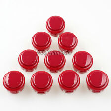10x OEM 30mm Push Button Replacement For Arcade Sanwa OBSF-30 Buttons Mame Jamme