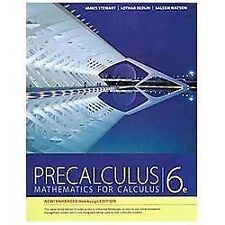 PRECALCULUS, ENHANCED WEBA - LOTHAR REDLIN, ET AL. JAMES STEWART (HARDCOVER) NEW