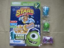 Nestle Phils Cereal EXCLUSIVE Set of 3 MONSTERS UNIVERSITY Glow Figures