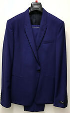 Paul Smith Suit STUNNING BLUE WOOL & MOHAIR KENSINGTON Slim Fit UK42R EU54R